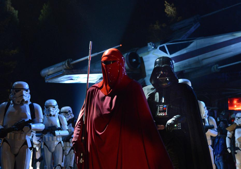 la soiree star wars a disneyland paris