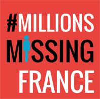 #MILLIONS MISSING FRANCE